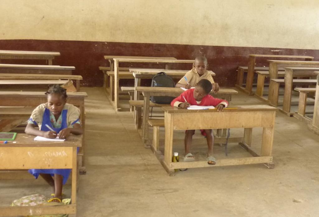 Archive: une salle de classe