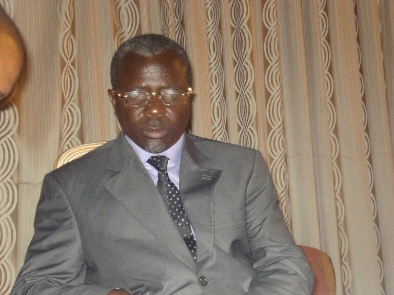 L'ex-chef rebelle congolais, Frédéric Bintsamou, alias Pasteur Ntumi,