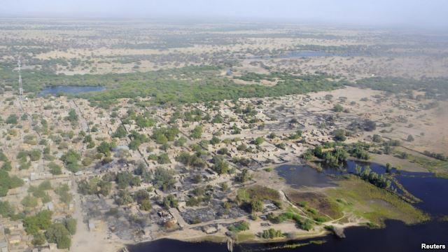 Village de Ngouboua, sur le lac Tchad