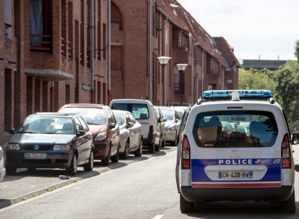 Une voiture de police dans les rues de Roubaix, en août 2014|AFP