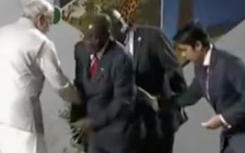 Le Président Mugabe ivre en Inde: l'incroyable vidéo qui fait le buzz!