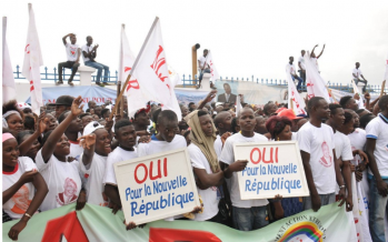 Congo : les partisans de la nouvelle Constitution visent dAi??jAi?? lai??i??Ai??lection prAi??sidentielle de 2016