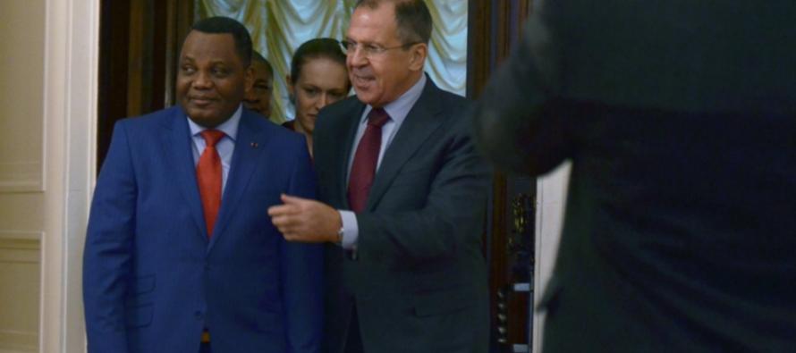 Des relations au beau fixe entre Moscou et Brazzaville