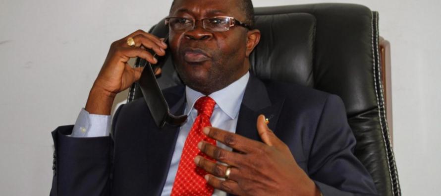 Mabio Mavoungou: «le dialogue reprendra après le retrait du simulacre du référendum»