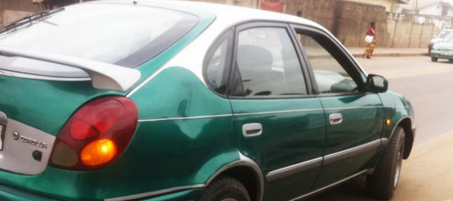 Brazzaville : Une femme se fait projeter dai??i??un taxi