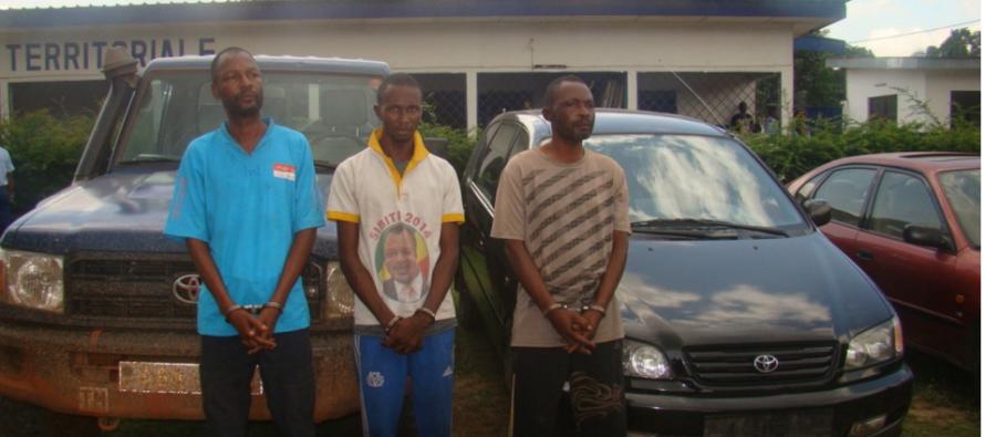 Congo : un réseau de vol de voitures démantelé par la gendarmerie