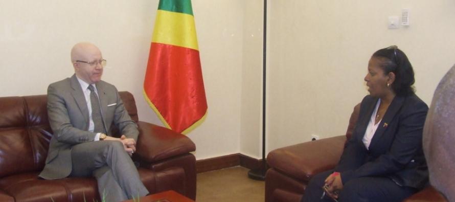 Congo-Venezuela : la diplomate Vénézuélienne sollicite l'apport des médias congolais