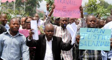 RDC : les agents de l'Etat réclament les salaires des trois mois