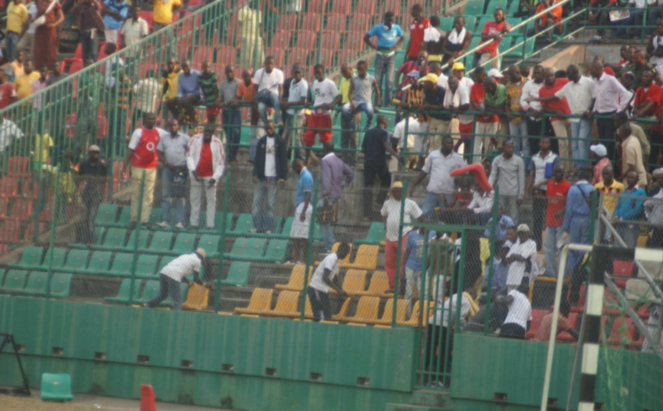 Le Stade Président Alphonse Massamba-Débat|Image d'archive