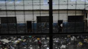 Vue de la prison de Goma, RDC