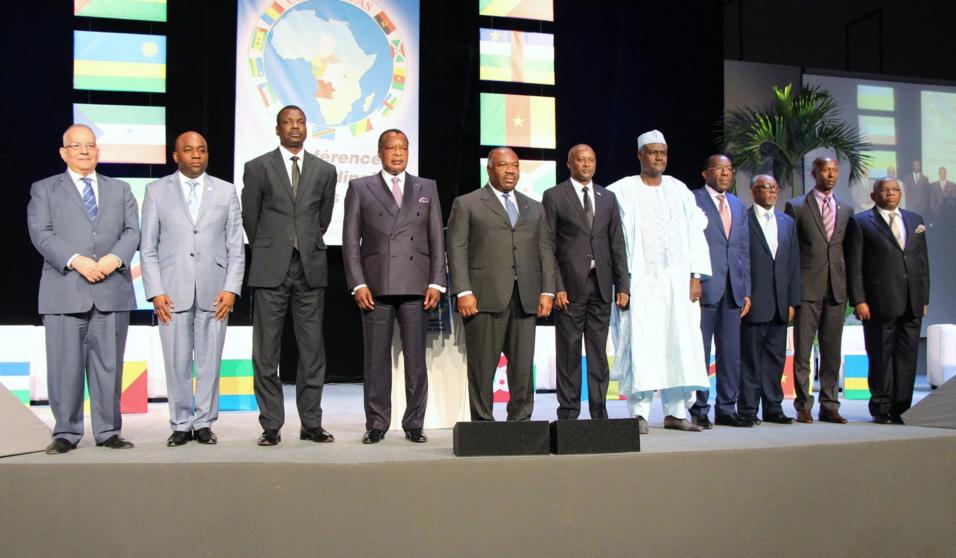 Denis Sassou Nguesso du Congo Brazzaville et Ali Bongo Ondimba du Gabon sont les deux présents.