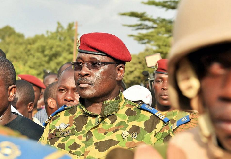 Le premier ministre burkinabè, Isaac Zida