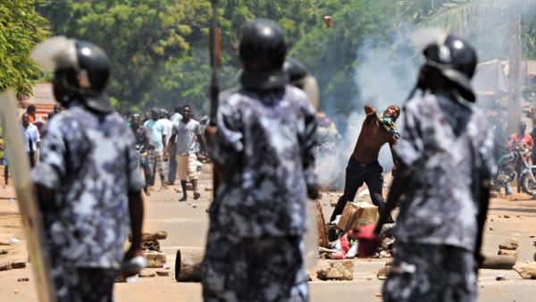Affrontements entre manifestants et forces de l'ordre, au Togo (photo d'archives).