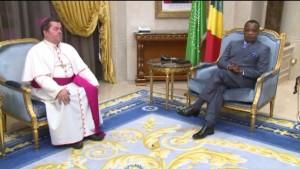 Le président de la République, Denis Sassou N'Guesso a échangé ce vendredi, 13 novembre avec le Nonce apostolique, Yan Romeo Paoloski.