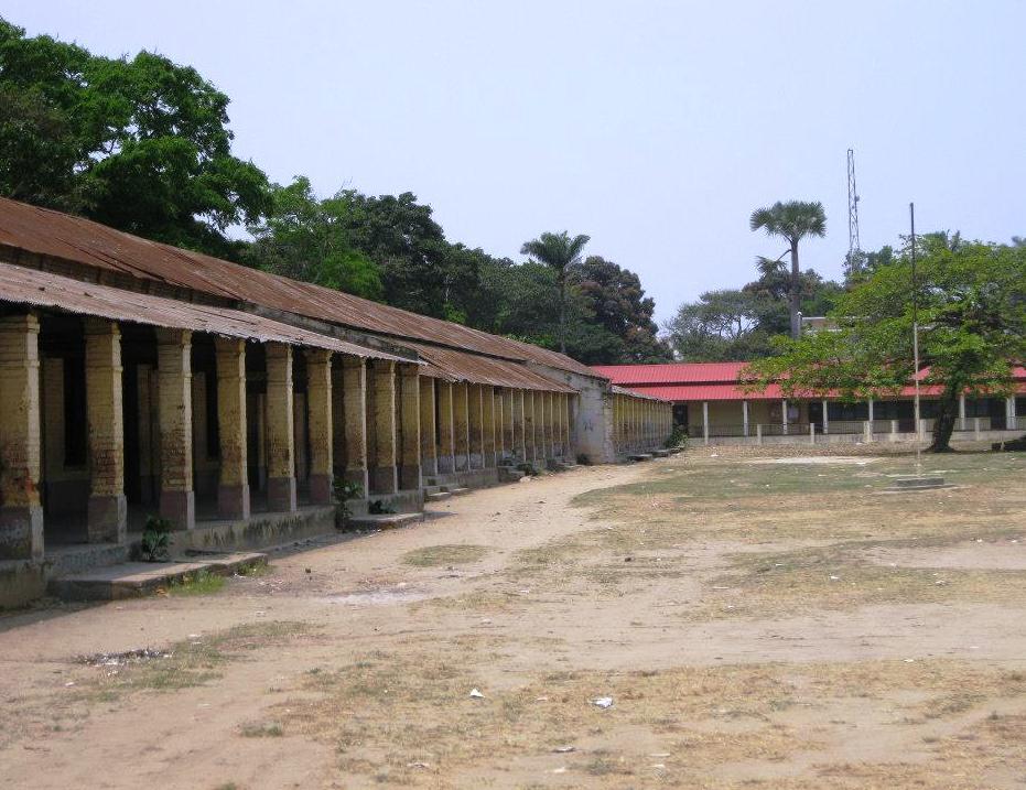 l'école primaire la Fraternité  a Brazzaville