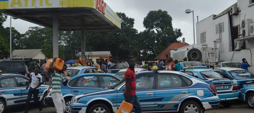 Congo – Pointe Noire : paralysée par une Pénurie d'essence