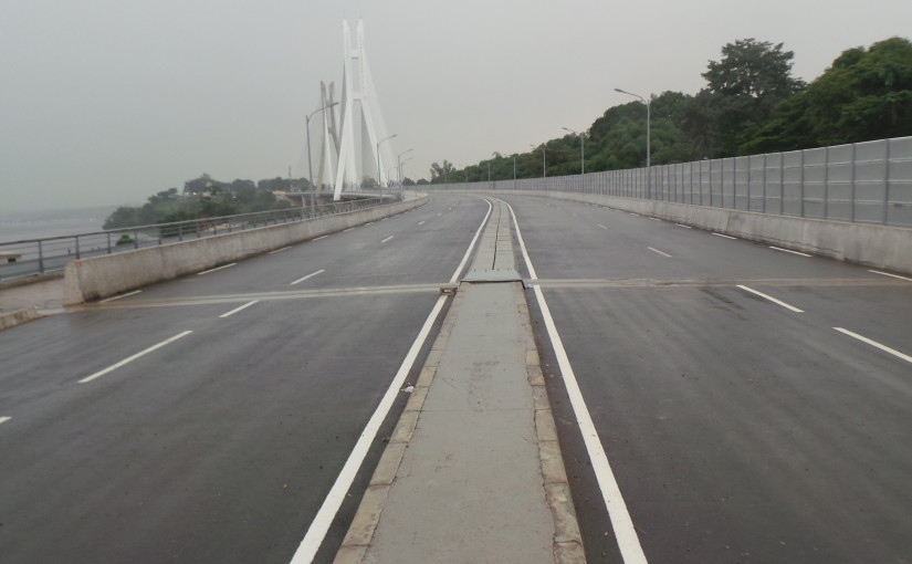 Ouverture imminente de la corniche sud de Brazzaville