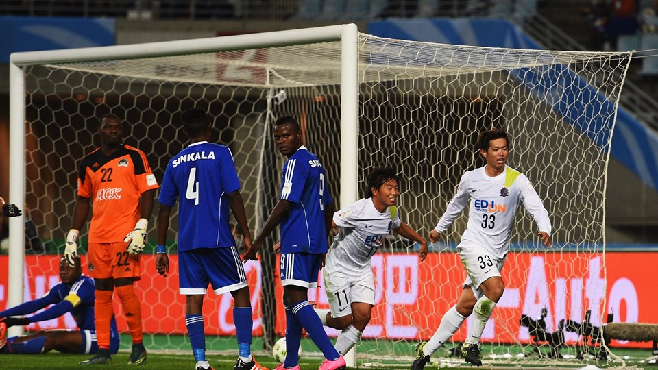 Pour son entrée en lice à la Coupe du monde des clubs, le TP Mazembe s'est logiquement incliné ce dimanche devant Sanfrecce Hiroshima (3-0), au stade Nagai d'Osaka. (Photo by Shaun Botterill - FIFA/FIFA via Getty Images)