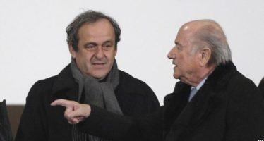 FIFA: Blatter et Platini suspendus 8 ans de toute activité liée au football