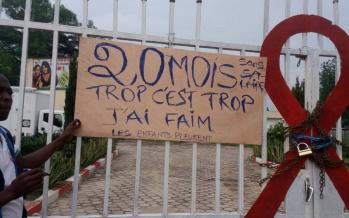 Congo : Des agents du CNLS exigent le paiement de leurs 20 mois d'arriérés de salaires