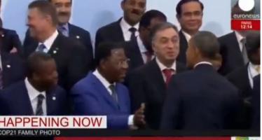 VIDEO – Quand Barack Obama ignore le président Yayi Boni à la COP21