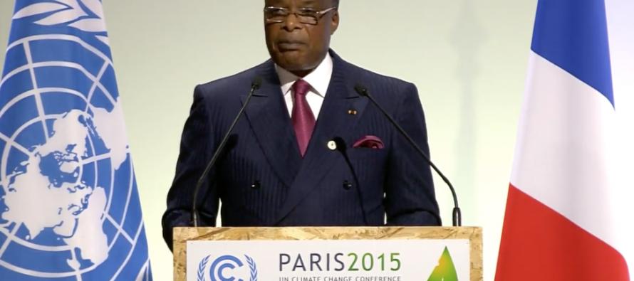 COP21 : Sassou Nguesso demande aux pays pollueurs de tenir leurs engagements