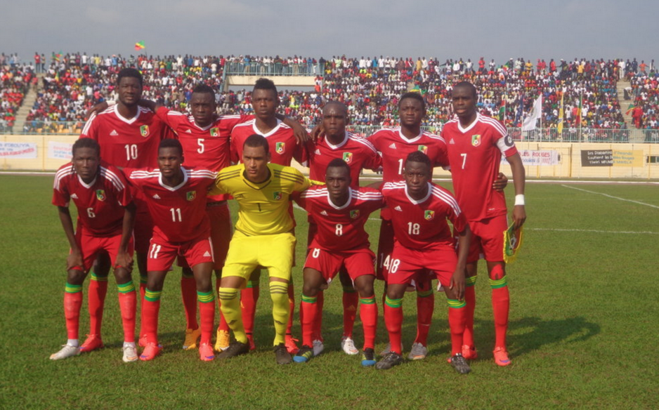 Les Diables rouges du Congo , le 14 juin au stade Marien Ngouabi d'Owando