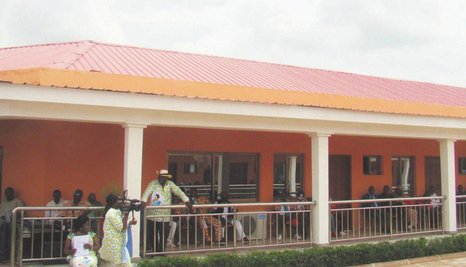 la Maison des seniors de Mfilou