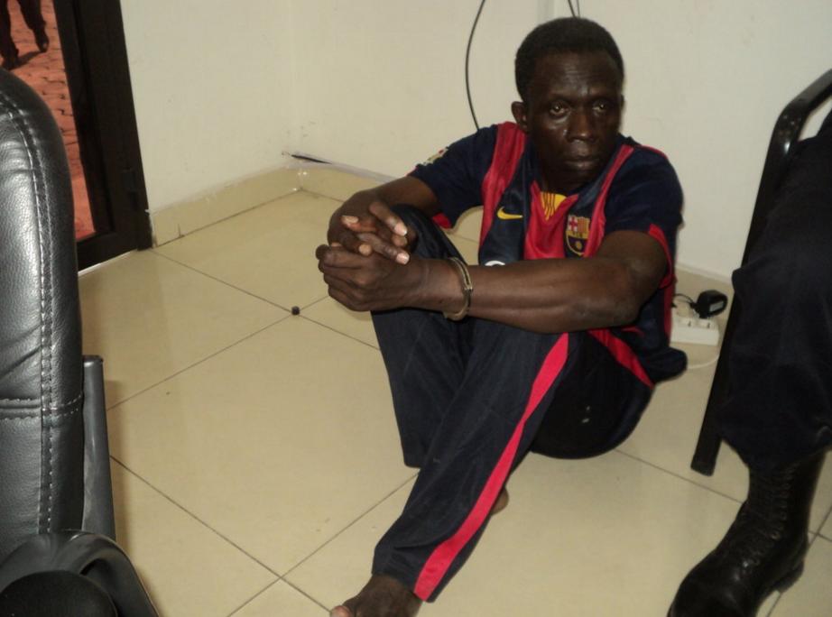 Le commerçant Bane Bahine de nationalité malienne a été présenté le 10 décembre, au public par la police, suite au meurtre de l'étudiant Alex Guelor Mouya perpétré à Moungali dans le quatrième arrondissement de Brazzaville.