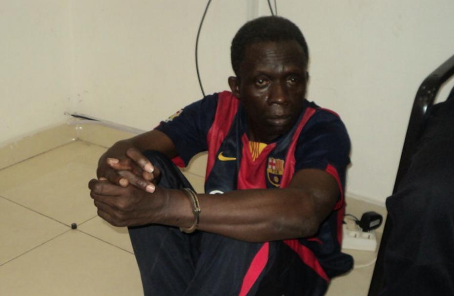 Le commerçant Bane Bahine de nationalité malienne a été présenté le 10 décembre, au public par la police, suite au meurtre de l'étudiant Alex Guelor Mouya perpétré à Moungali dans le troisième arrondissement de Brazzaville.