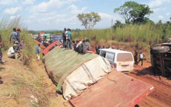 Congo – Route Kinkala-Mindouli : travaux suspendus pour manque de financement congolais!
