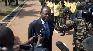 Le général Jean-Marie Michel Mokoko, ancien chef d'état-major des forces armées congolaises.