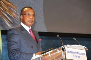 Image d'archive|Le Président de la République, Denis Sassou N'Guesso