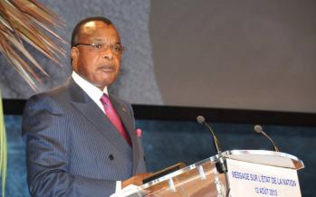 Congo : le président Sassou N'Guesso devant les députés ce mardi