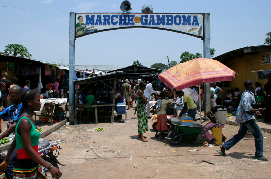Image d'archive|Le marche de Gamboma|©flickr