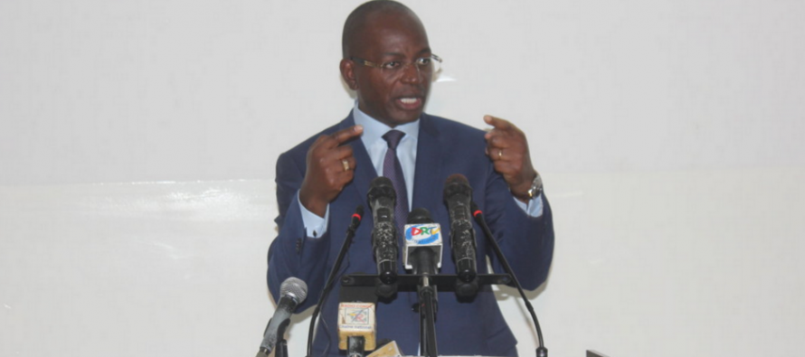 Le Ministre Okiemy exigé une nouvelle gouvernance au nouveau commissaire général du FESPAM