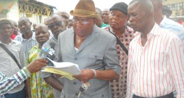 Congo : les travailleurs de l'ex CNTF exigent le paiement des arriérés de salaire