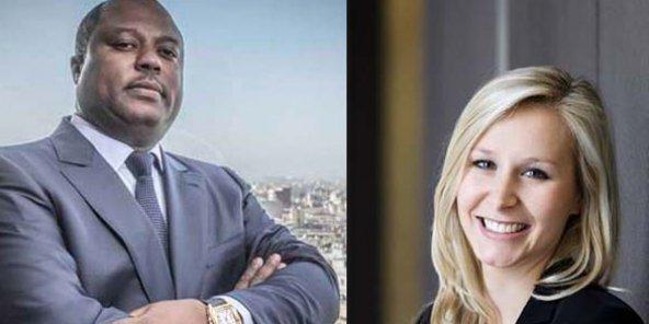 Wilfried Etoka (à gauche) et Marion Maréchal-Le Pen. © Photomontage JA