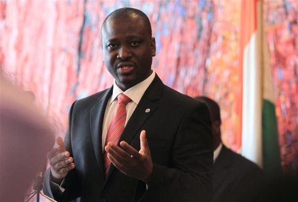 Le président de l'Assemblée nationale de la Côte d'Ivoire, Guillaume Soro