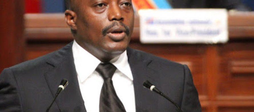 Joseph Kabila annonce le report des élections en RDC