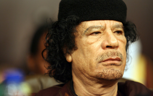 L'ancien raïs libyen Mouammar Kadhaf