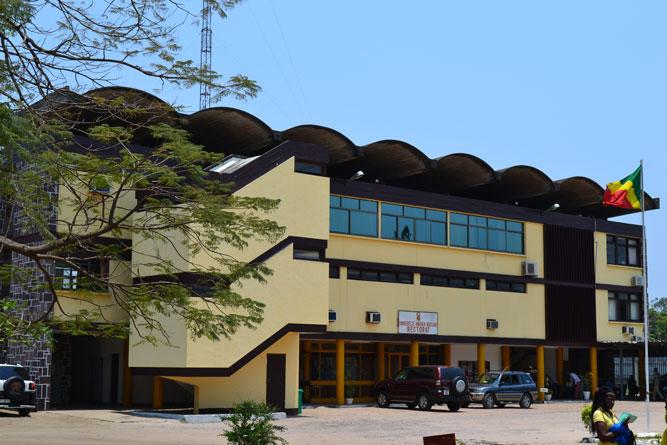 Le Rectorat de l'Université Marien Ngouabi|DR
