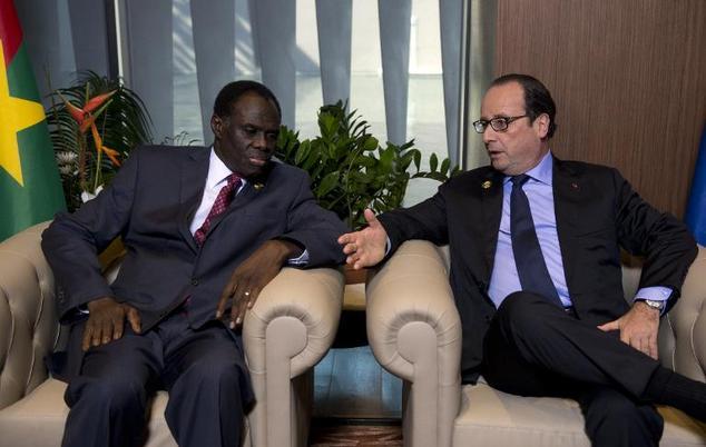 Hollande et Kafando