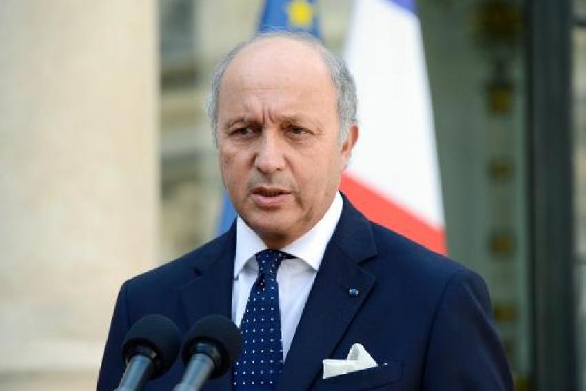 Laurent Fabius, le ministre des Affaires étrangères|AFP