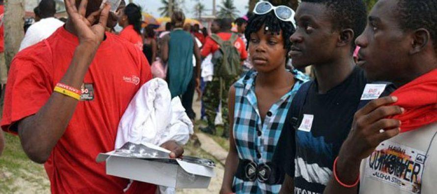 500.000 préservatifs distribués lors d'un match de football en Afrique du sud