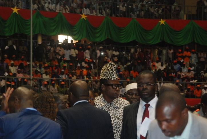 Insolite : Mobutu aperçu à l'investiture de Roch Kaboré