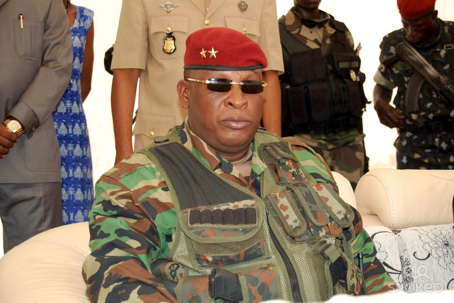Le commandant de la force régionale de l'Union Africaine, le général guinéen, Sekouba Konaté