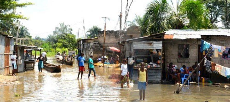 RDC – Pluies diluviennes : Kinshasa sous les eaux !