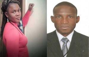 Deux jeunes congolais Massouanga Brice et Makela Perpetue