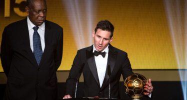 Lionel Messi a remporté le Ballon d'Or pour la cinquième fois depuis 2009